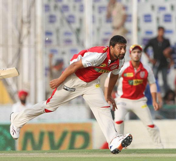 Kings XI Punjab player Praveen Kumar