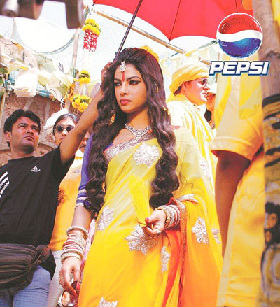 Gayle, Priyanka add fizz to the new Pepsi campaign