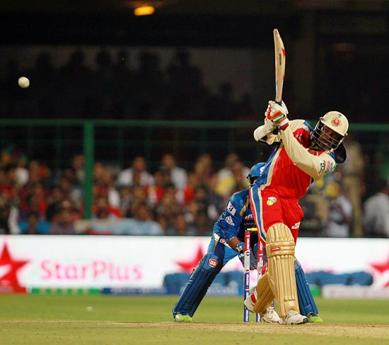 Who has hit the most sixes in IPL 6?