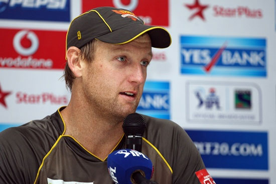 Sunrisers Hyderabad captain Cameron White