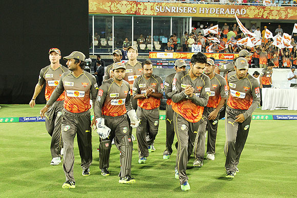 Hyderabad Sunrisers players