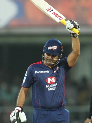 IPL: Sehwag powers Delhi Daredevils to first win