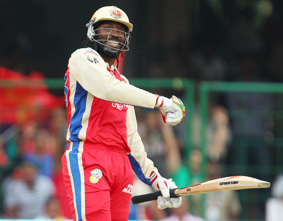 The Awesome Chris Gayle. Who can forget his 175 not out on April 23?