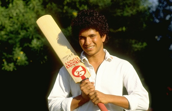 Sachin scored a century on debut in Ranji, Irani and Duleep Trophy