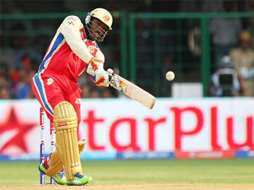Rediff Cricket - Indian cricket - Gayle 175 not out: 100 off 30 balls; 150 off 53