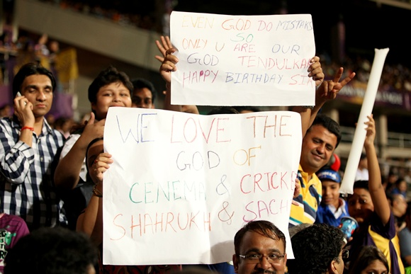 PIX: Fans wish Sachin Tendulkar 'Happy Birthday'