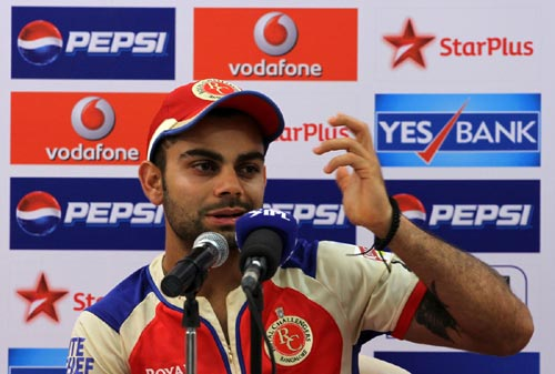 Virat Kohli lashes out at 'weird' Wankhede crowd