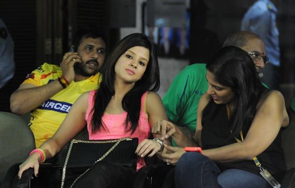 IPL PHOTOS: The many moods of stylish Mrs Dhoni