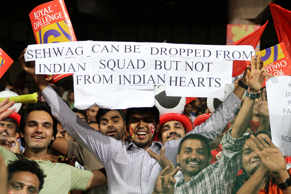 Sehwag remains popular