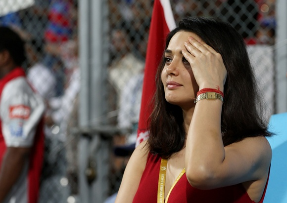 PHOTOS: Spotted! Preity Zinta, Ameesha Patel at the IPL