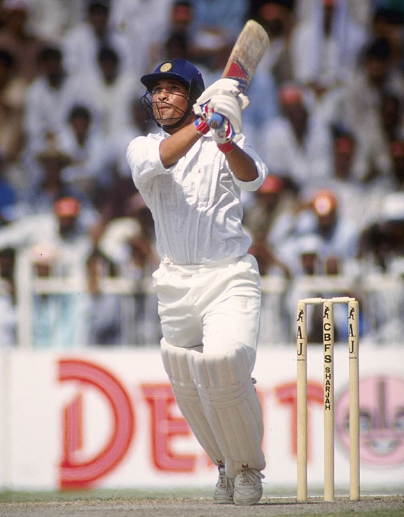 Sachin Tendulkar had done well at the WACA during India's ODI series in 1991-'92