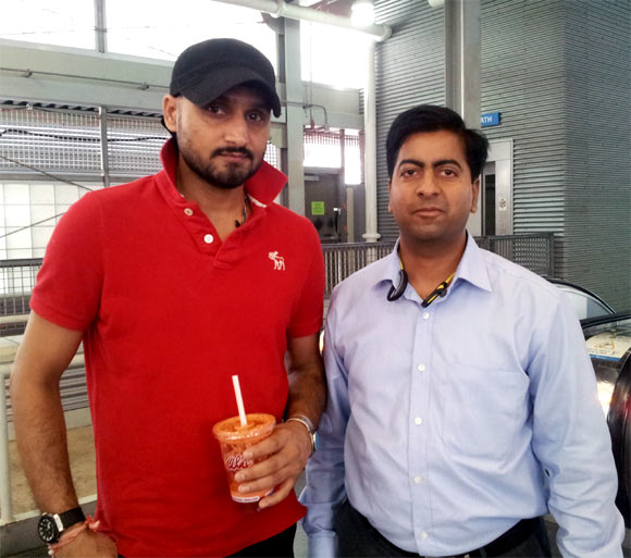 Spotted: Harbhajan in New York