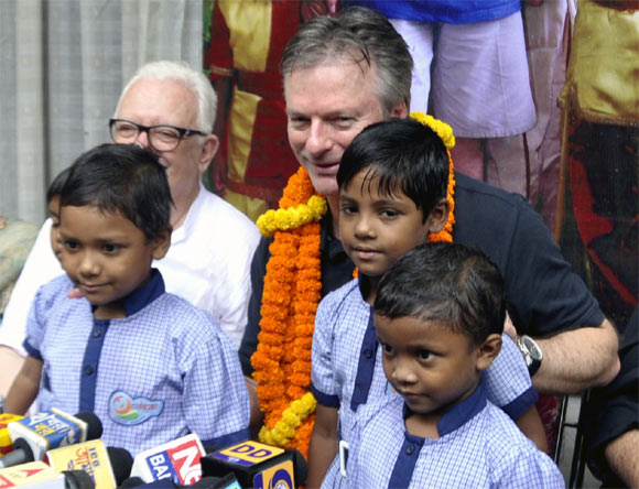 Steve Waugh at Udayan
