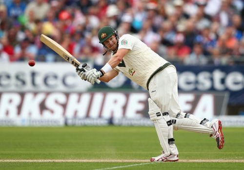 Shane Watson of Australia bats during day two of 4th Investec Ashes Test match