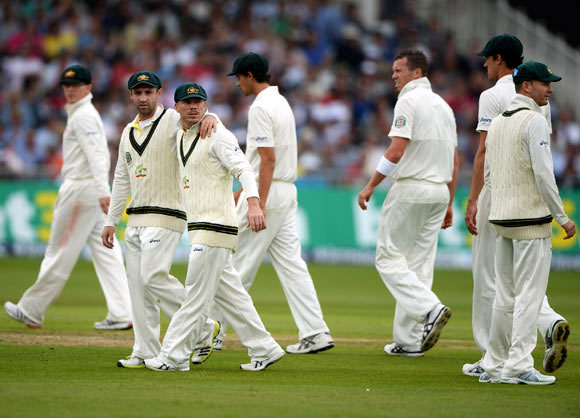 'Australia's batsmen turned the sniff of victory into a stench of defeat'