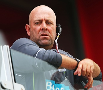 Australia coach Lehmann fined for Broad comments
