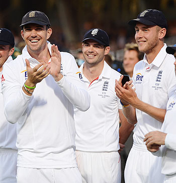 KP, Anderson and Stuart Broad