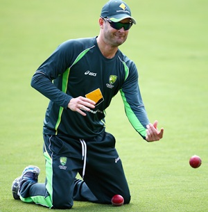 Australia captain Clarke skips training to rest ankle