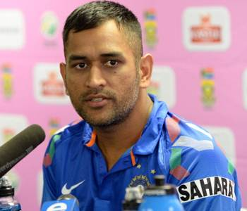 Getting used to pace and bounce in SA biggest challenge: Dhoni