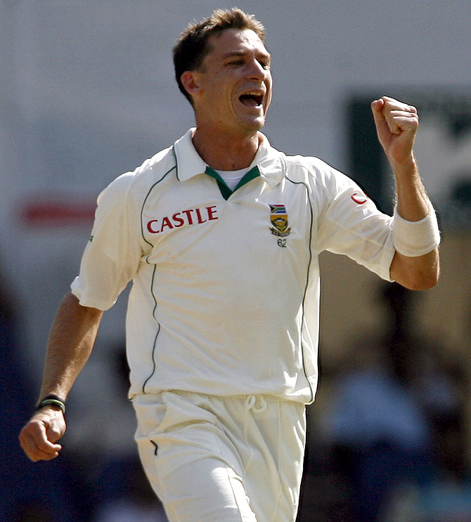 South Africa's Dale Steyn