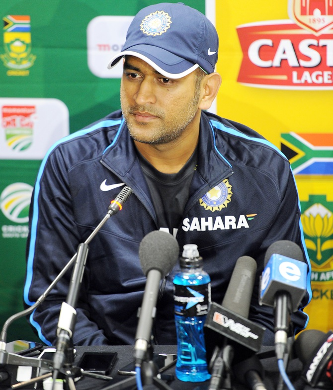Why Captain Dhoni is a disappointed man