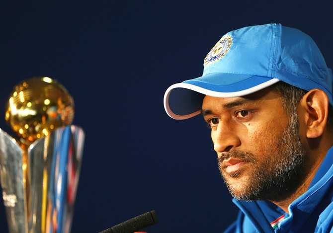 India captain MS Dhoni