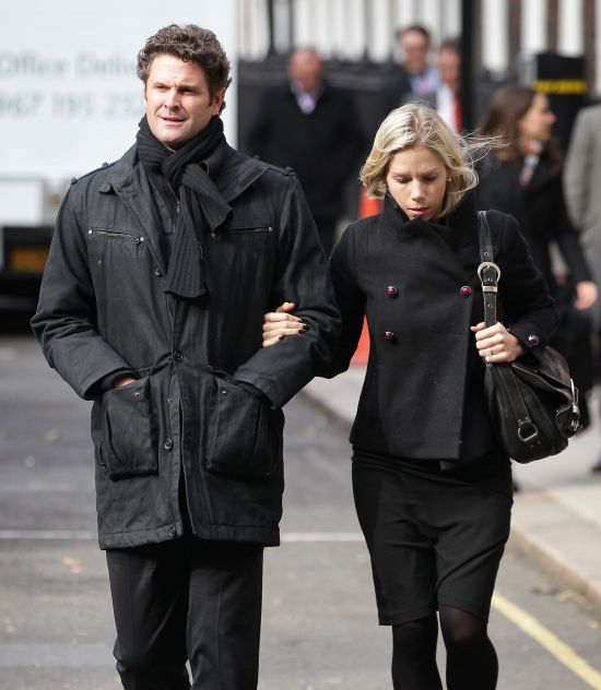Chris Cairns with his wife