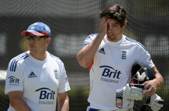 Rediff Sports - Cricket, Indian hockey, Tennis, Football, Chess, Golf - Warne challenges Cook to toughen up for Ashes