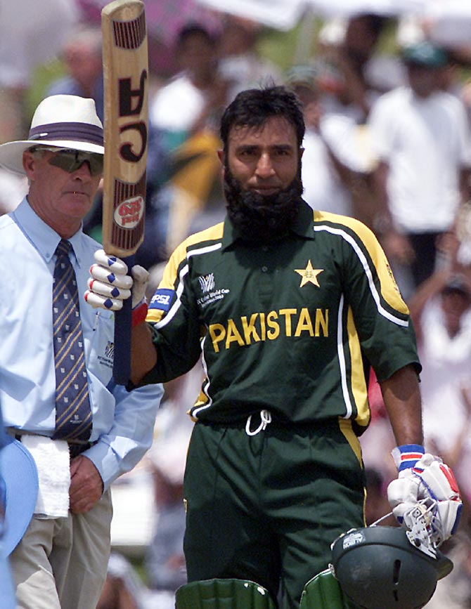 Saeed Anwar celebrates a century