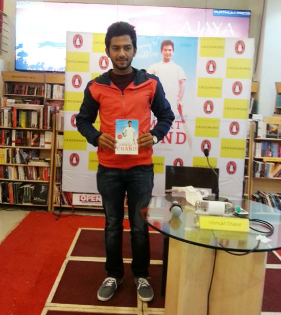 'Sky is the Limit' for cricketer-author Unmukt Chand!