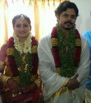 Sreesanth and his bride