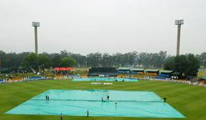 Rediff Cricket - Indian cricket - India's practice match ahead of SA Tests washed out
