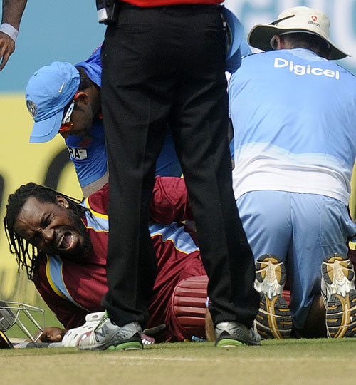 Rediff Cricket - Indian cricket - Windies' Gayle, Pollard out of ODI series v New Zealand
