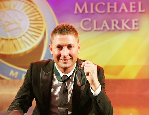 Rediff Cricket - Indian cricket - ICC Awards: Clarke takes top honours; Pujara is emerging cricketer
