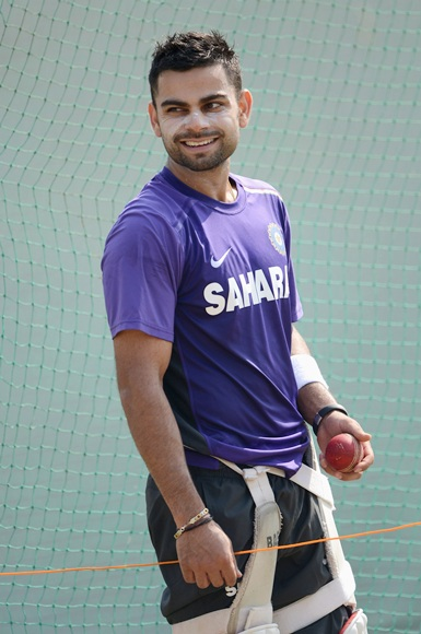 Virat Kohli will probably bat at number four