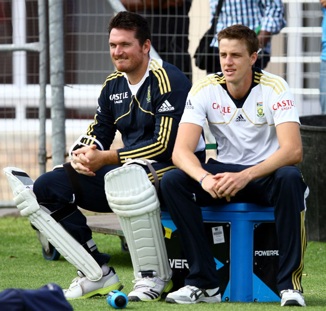 Graeme Smith and Morne Morkel