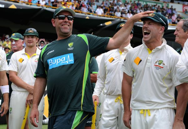 Darren Lehmann and David Warner
