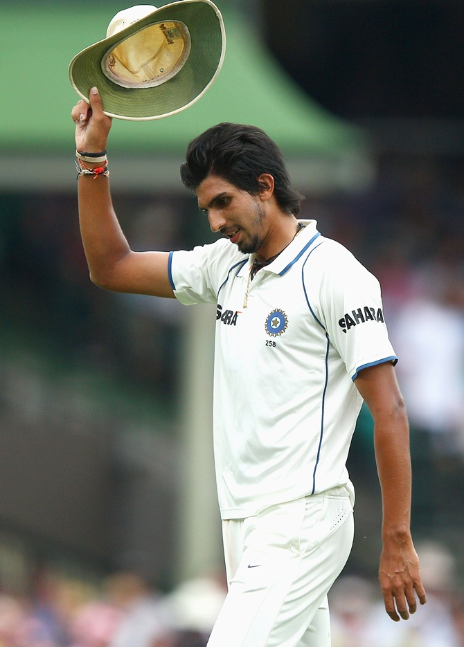 Rediff Cricket - Indian cricket - 'Ishant bowled in the right areas and used the bounce very well'