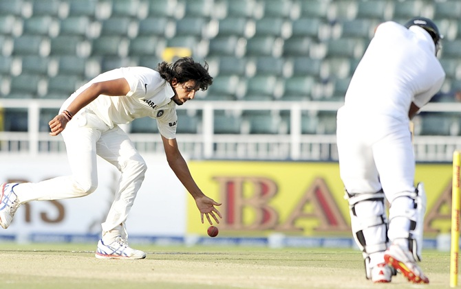 Rediff Cricket - Indian cricket - Stats: Ishant records best bowling figures against South Africa