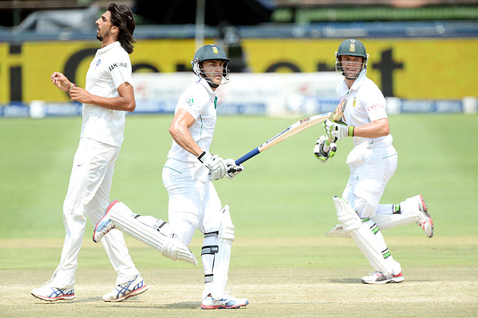 PHOTOS: SA throw away chance at history, draw 1st Test with India