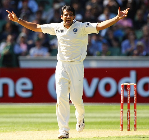 Zaheer Khan is a doubtful starter