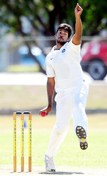Varun Aaron has been struggling to recover from injury