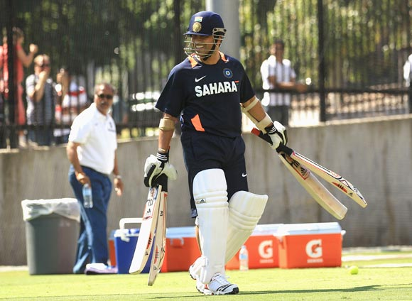 'Tendulkar in form after a Ranji (Trophy) ton'