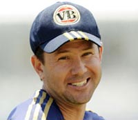 Ponting replaces Harbhajan as Mumbai Indians captain