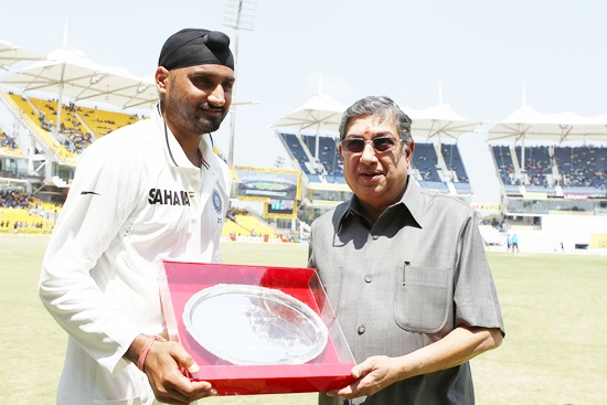 Harbhajan Singh play 100th Test