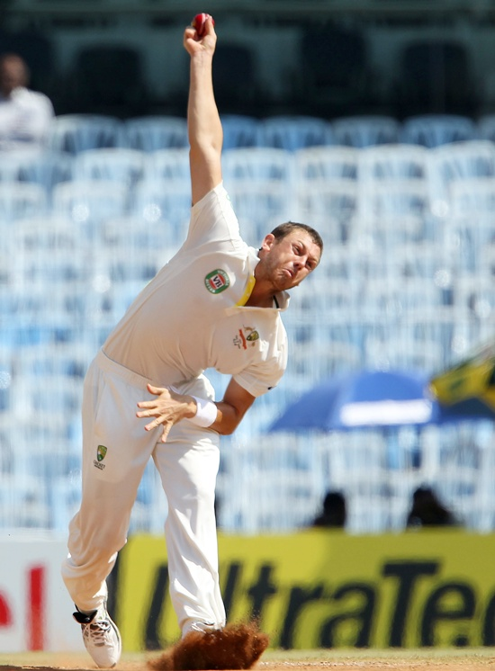 James Pattinson, a bowler the Indians must be wary of.
