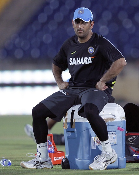 If at all somebody is doubtful, it's me: Dhoni
