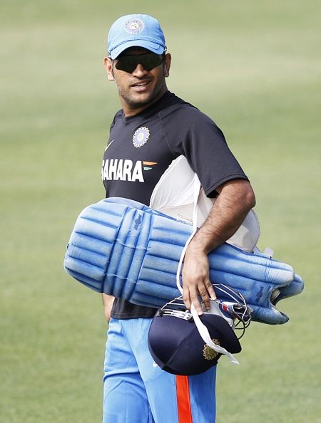 Dhoni, at a loss to explain the team's repeated failures