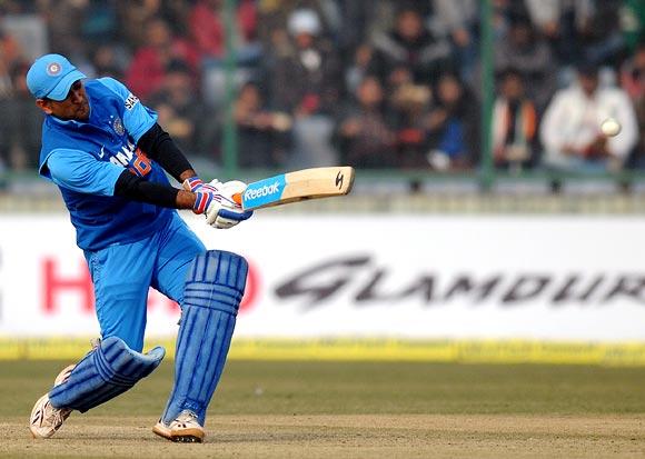 Mahendra Singh Dhoni hits out