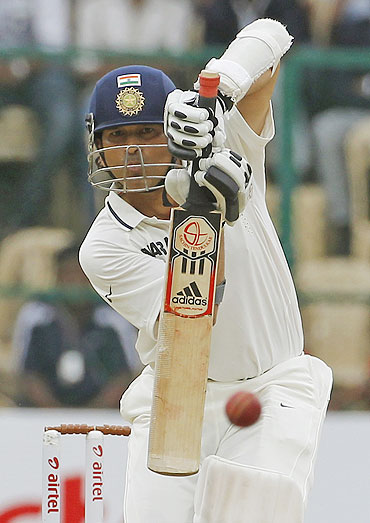 Sunday's innings wasn't vintage Tendulkar